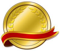メダルとリボン2