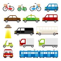 車 トラック 自転車 乗り物