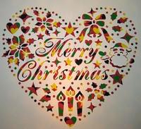 ハートとクリスマス