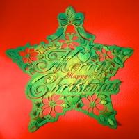 星とクリスマス