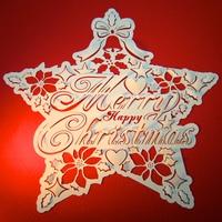 クリスマスと星