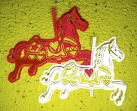 赤白回転木馬バック黄色