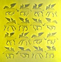 ペガサス16匹黄色四角