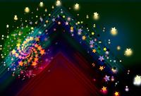 CG/回転する星