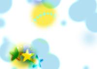 CG/雲と満月と三ツ星