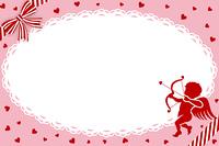 バレンタイン/カード/キュービッド