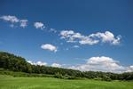 那須高原の青空