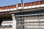 高架橋の補修工事