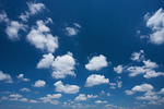 初夏の東京の空