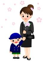 幼稚園 式 男の子 ママ