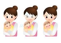 赤ちゃん ママ 表情