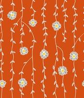 蔓植物のパターン