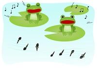 蛙 オタマジャクシ