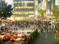 渋谷のスクランブル
