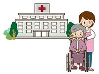 病院とヘルパー