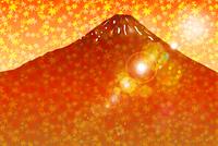 富士山と秋