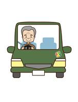 高齢男性の自動車運転