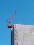 大型ビルの建設工事