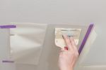 壁紙の補修工事
