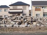 住宅地の造成工事