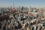 東京都港区の街並み