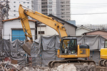 古い住宅の解体工事