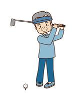 高齢者のゴルフ