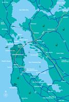 サンフランシスコベイエリアマップ