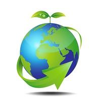 地球と新芽