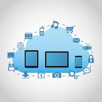 クラウドのアプリとデバイス