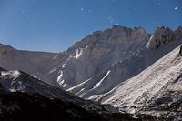 夜のカミホロカメットク山