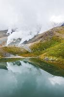 大雪山旭岳と姿見の池