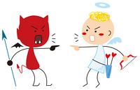悪魔の子供と天使の口喧嘩