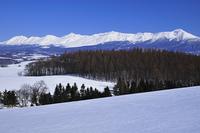 冬の十 勝連山