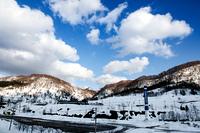 雪の夕張市