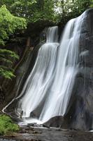 滝野すずらん丘陵公園の鱒見の滝