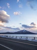 支笏湖と国道453号線