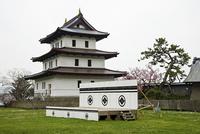 春の北海道松前城