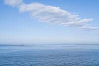 函館市の海と空