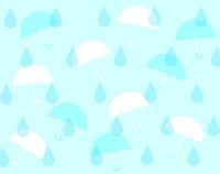 傘としずくの壁紙