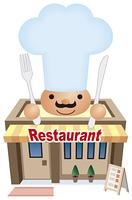 レストランのアイコン