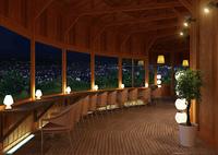 夜の喫茶店