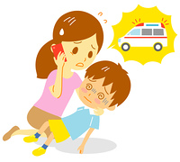 救急車 子供