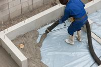 住宅建設 基礎工事