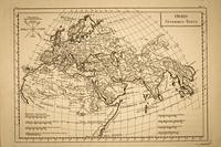 世界地図 ヨーロッパ・中東・南アジア