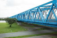 荒川にかかる鉄橋