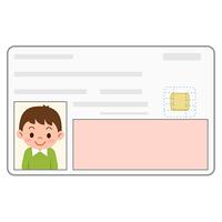 身分証明書 カード 男の子
