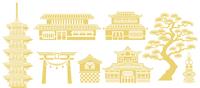日本建築 素材セット