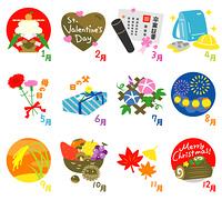 カレンダー 記念日と行事 アイコン01