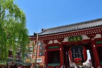 東京・浅草寺の雷門